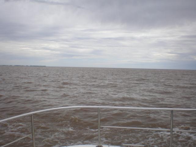 Rio de La Plata do barco